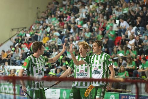 Tipsport Superliga mužů: 9. kolo - FbŠ Bohemians vs. TJ Sokol Královské Vinohrady: 6:2