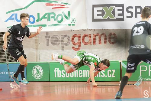 Florbalová Desítka: FbŠ Bohemians vs. FBC Liberec 7:6